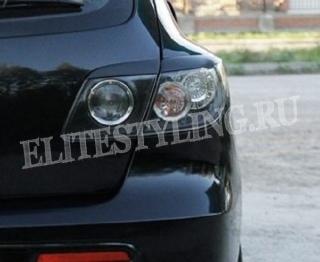 Реснички Mazda 3 хэтчбек задние