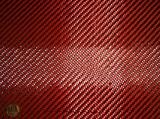 Карбон-Кевлар (Красный) Твилл 2х2